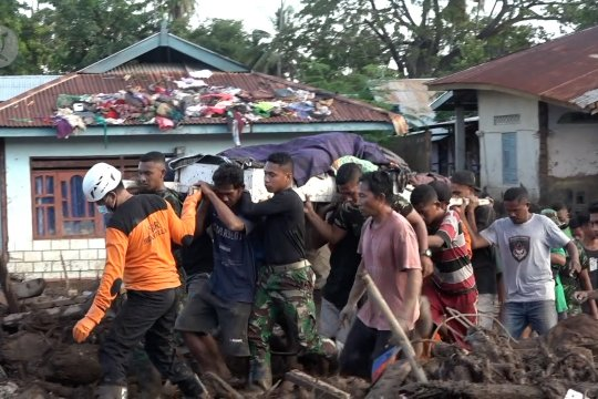 Korban terakhir banjir bandang Adonara Timur ditemukan