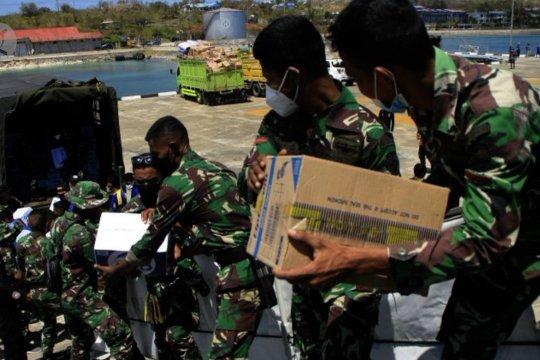 KRI Ahmad Yani bawa bantuan logistik ke Sabu Raijua