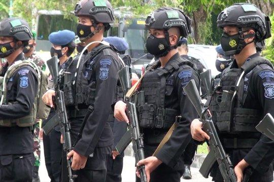Pengamanan Paskah di Madiun dan Palangka Raya