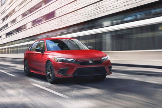 Honda All New Civic Sedan generasi ke-11, begini penampilannya