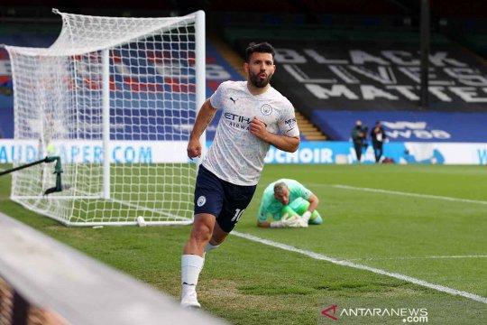 Liga Inggris : Manchester City vs Crystal Palace 2-0