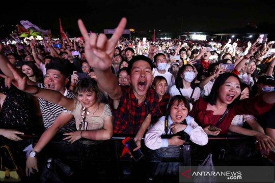 Festival Musik Strawberry di Wuhan
