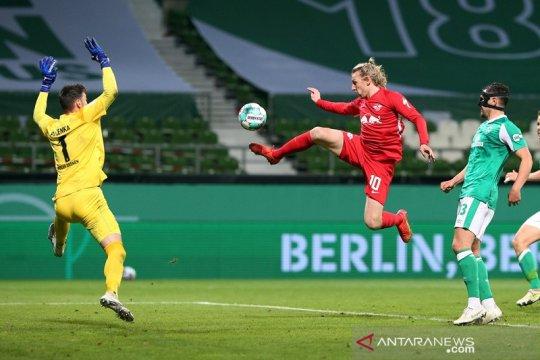 Leipzig singkirkan Bremen menuju final DFB Pokal lewat babak tambahan