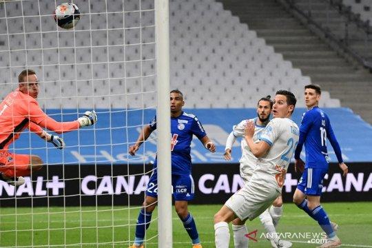 Gol larut hindarkan Marseille dari kekalahan lawan Strasbourg