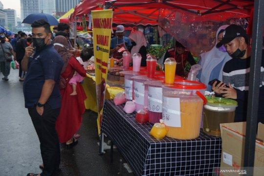 Bazar Ramadhan Kuala Lumpur dikepung COVID-19