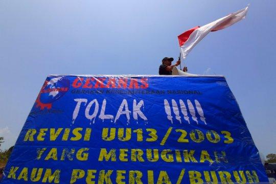 SPSI Tanjungpinang tidak gelar orasi tapi tetap tolak Omnibus Law