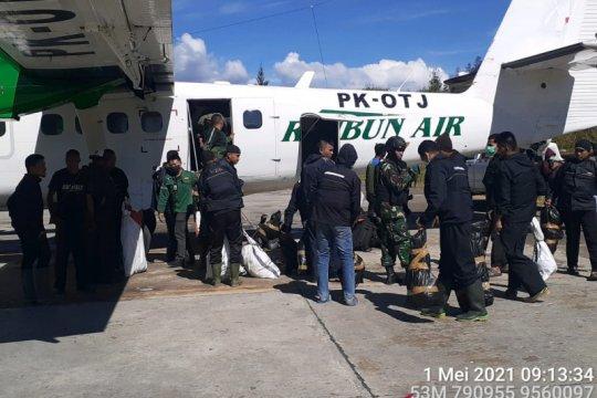 Pasukan TNI-Polri mulai dikirim ke Ilaga buru kelompok bersenjata