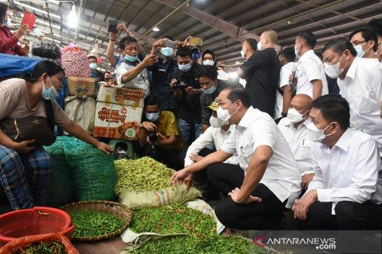 Menteri Perdagangan kunjungi Pasar Raya MMTC