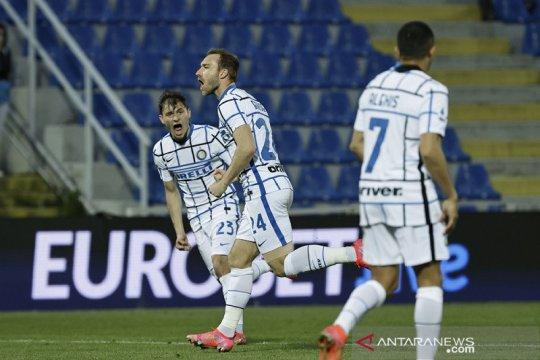 Inter kunci gelar scudetto sekaligus kirim Crotone ke Serie B