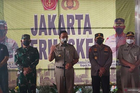 2.500 personel gabungan awasi prokes di Pasar Tanah