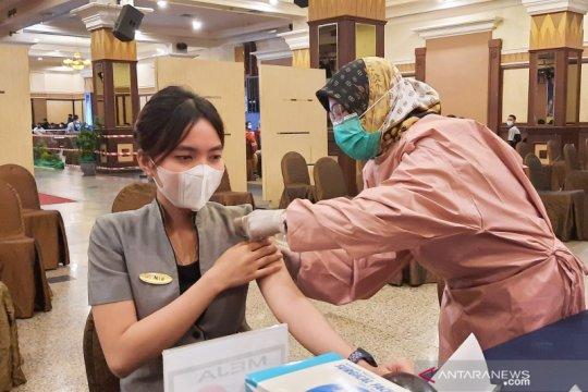 Kaum milenial di Banjarmasin antusias ikuti vaksin COVID-19