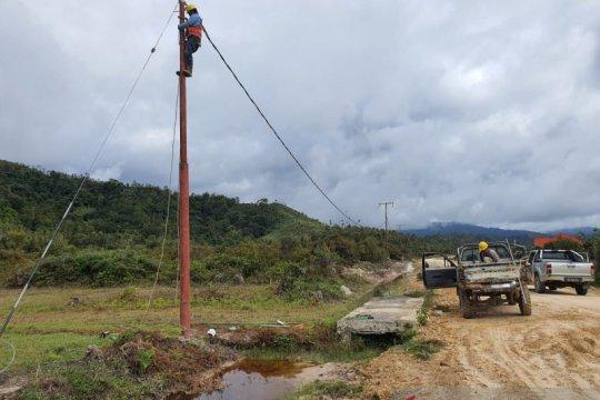 PT PLN targetkan 33 desa terpencil Kaltim terlistriki sebelum 2022