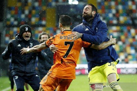 Cristiano Ronaldo pimpin Juve bangkit tundukkan Udinese