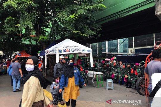 Cegah kerumunan, Stasiun Tanah Abang tak sediakan layanan KRL