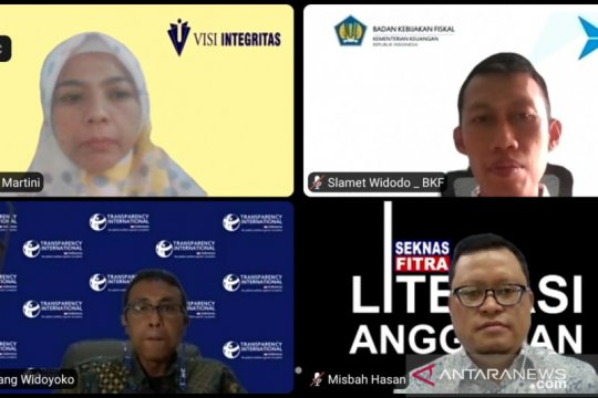 Visi Integritas dukung tim stranas PK cegah korupsi