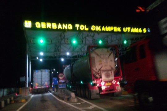 Tol Jakarta-Cikampek masih terpantau normal