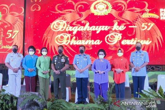 Istri Kasad: Solidnya unsur Dharma Pertiwi kekuatan sejati bangsa