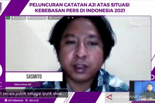 AJI: Pelaku kekerasan terhadap jurnalis paling banyak adalah polisi