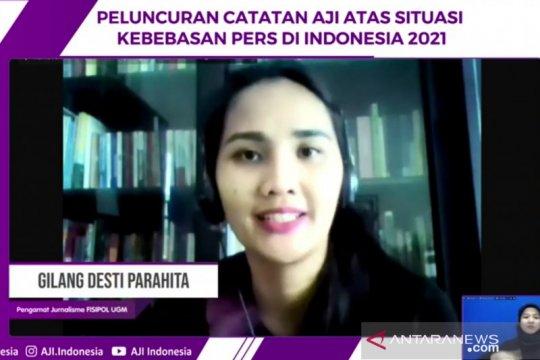 Akademisi: Kebebasan pers indikator kematangan demokrasi