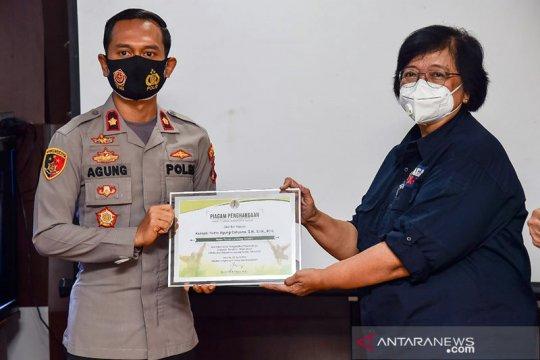 Menteri LHK apresiasi penyelamatan orangutan di Lampung Selatan