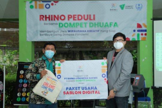 Rhino Indonesia beri bantuan untuk kurangi angka pengangguran
