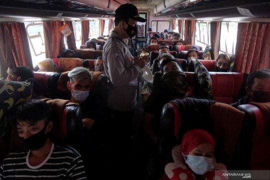 Kemenhub: Bus berstiker hanya angkut penumpang non-mudik