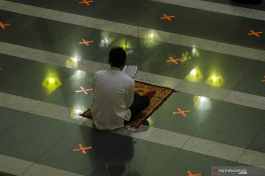 Iktikaf Ramadhan di Bandung