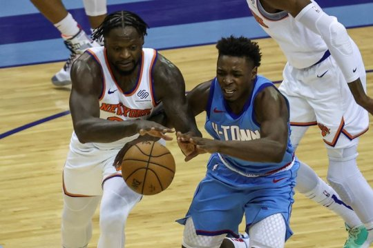 Julius Randle cetak 31 poin saat Knicks taklukkan Rockets