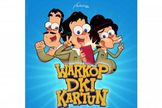 Pembuktian trio komedian legendaris lewat serial kartun Warkop DKI