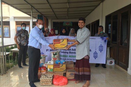 Askrindo Syariah salurkan sembako ke panti asuhan di Banda Aceh