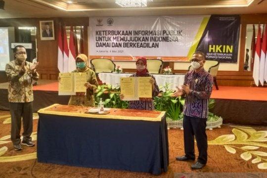 KI Pusat-Kemendes teken MoU dukung kebutuhan informasi publik desa