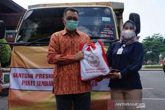 Presiden berikan bantuan 10.000 paket Ramadhan bagi warga NTB