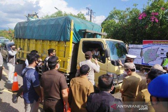 Barito Timur tutup jalan di perbatasan bagi pemudik mulai 6 Mei