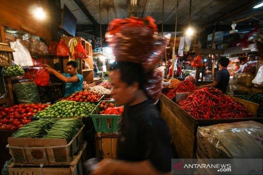 Harga pangan pokok terpantau stabil seminggu jelang Lebaran