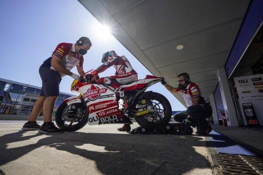 Federal Oil bangga Diggia juara Moto2 Spanyol