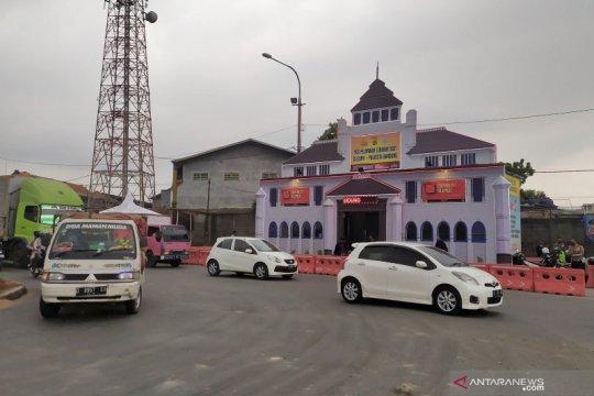 Polisi bangun 'Gedung Sate' di Cileunyi Bandung