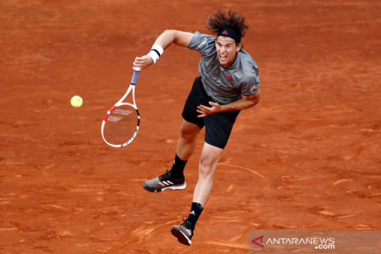Kondisi lapangan untungkan Thiem menuju perempat final Madrid Open