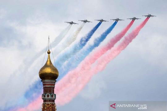 Gladi parade Hari Kemenangan Rusia dalam Perang Dunia Kedua