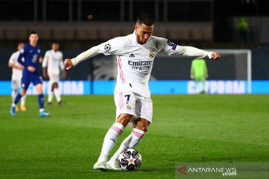 Leg kedua Chelsea vs Real Madrid, Hazard dituntut buktikan kemampuan