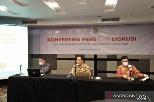 LP3ES: Publik dukung regenerasi pimpinan parpol ke kaum muda