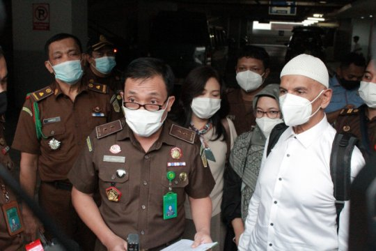 Kejari Jakpus alihkan status tahanan Mark Sungkar jadi tahanan kota