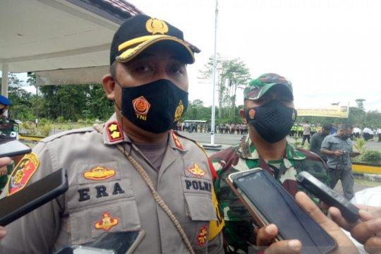 Pengamanan Lebaran di Mimika libatkan 500 personel TNI/Polri