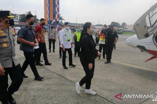 Menhub, Ketua DPR, Kakorlantas pantau Tol Trans Jawa naik helikopter