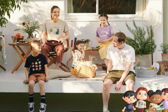 "Game Nintendo ""Animal Crossing: New Horizons"" hadir di kaus Uniqlo"