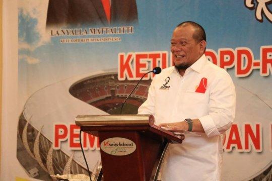 Ketua DPD RI ajak masyarakat dukung atlet Indonesia di Olimpiade Tokyo