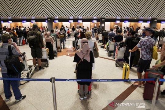 Jumlah penumpang di Bandara Juanda meningkat jelang larangan mudik