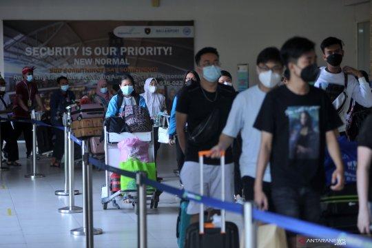 Bandara Ngurah Rai hanya layani 12.896 penumpang selama larangan mudik