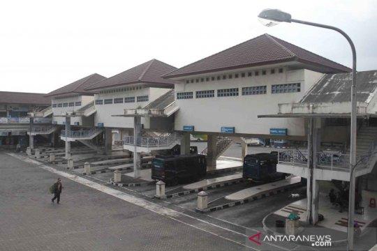 Terminal Giwangan tidak menerima kedatangan bus AKAP