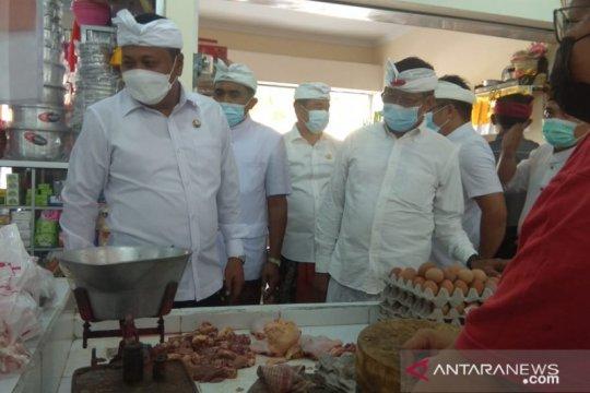Usai dipercantik, pasar rakyat Desa Bona diresmikan Bupati  Gianyar