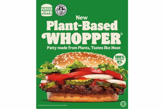 """Ada menu nabati di Burger King, """"Plant-Based Whopper"""""""